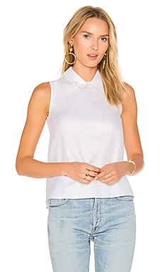 Blouse in Blanc Optique