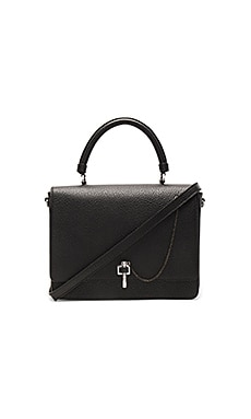 Malher Shoulder Bag en Negro