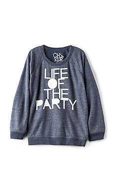 LIFE OF THE PARTY 풀오버