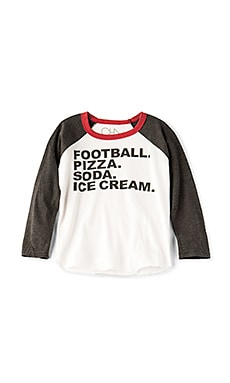Football & Food Tee