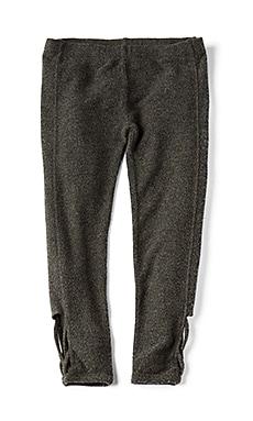 Reverse Fleece Love Knit Legging