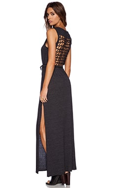 Chaser Maxi Dress in Black