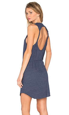 Chaser Twisted Back Cut Out Mini Dress in Oasis
