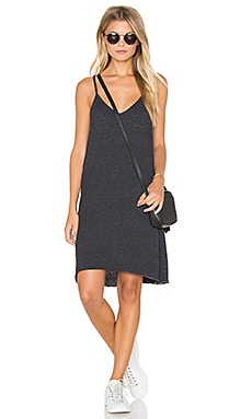 Chaser Pocket Mini Dress in Black