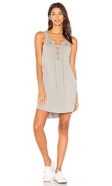Lace Up Racer Back Dress