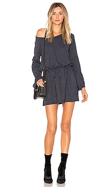 Jersey Drawstring Mini Dress Chaser $75