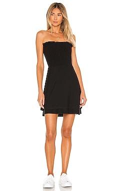 Cozy Knit Strapless Smocked Mini Dress Chaser $88 BEST SELLER