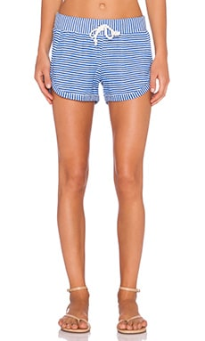 Chaser Striped Drawstring Short in Vacation Stripe