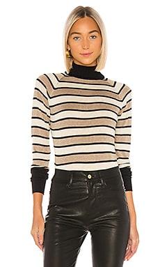 Turtleneck Raglan Shirttail Sweater Chaser $79