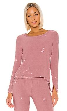 Pinky Stars Sweatshirt Chaser $79 NEW ARRIVAL
