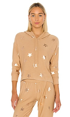 Rose Gold Stars Sweatshirt Chaser $79