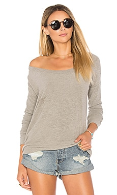 Love Knit Draped Back Top