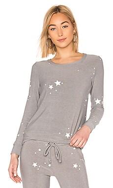 White Stars Knit Chaser $56