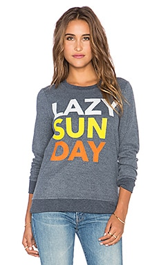 Chaser Lazy Sunday Sweatshirt in Avalon