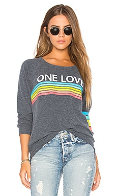 One Love Rainbow Sweatshirt