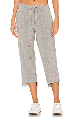 PANTALON SWEAT PINK STARS Chaser $44