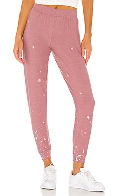 Pinky Stars Sweatpant Chaser $97
