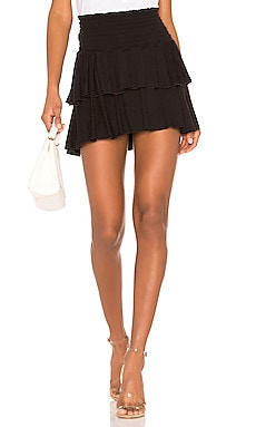Tiered Flouncy Mini Skirt Chaser $57 BEST SELLER