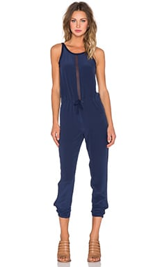 Chaser Scoop Back Jumpsuit in Snorkle