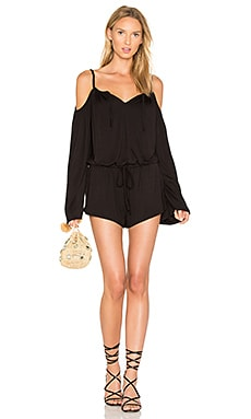Cold Shoulder Cami Romper