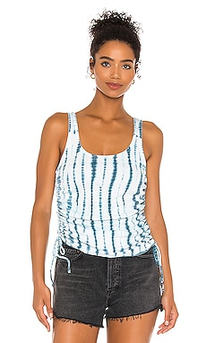 Shirred Sides Double Scoop Tank Chaser $59