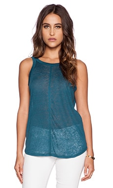 Chaser Scoop Back Tank in Frond