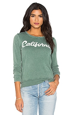 Chaser California Long Sleeve Tee in Camp