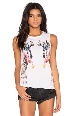 Camels Tank in White