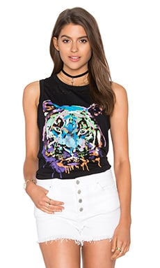 Chaser Rainbow Tiger Tank in Onyx