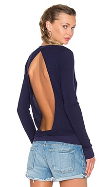 Cross Over Long Sleeve Thermal Top en Cove