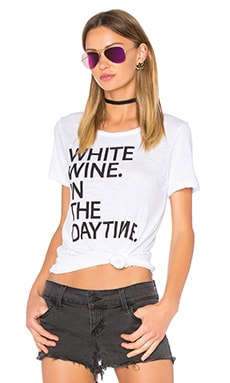 White Wine Tee in White