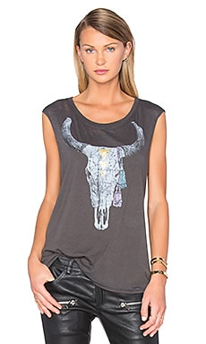 Golden Skull Tank in Union Black