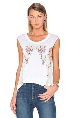Camel Reflection Tank in White