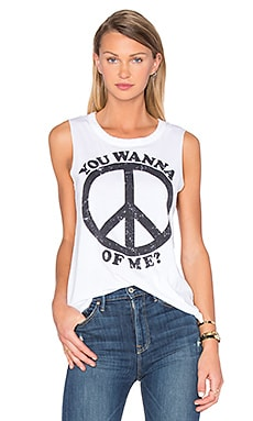 Peace Of Me Tank in White