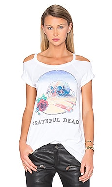 Grateful Dead Skull & Bones Tee in White