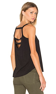 Chaser Strappy Back Cami in Black