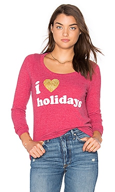 T-SHIRT I HEART HOLIDAYS