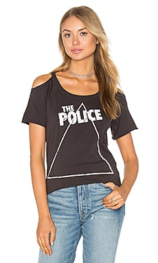 The Police Zenyatta Tee in Vintage Black
