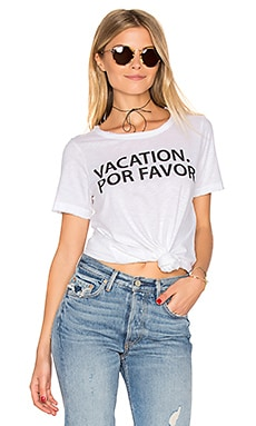 CAMISETA VACATION POR FAVOR