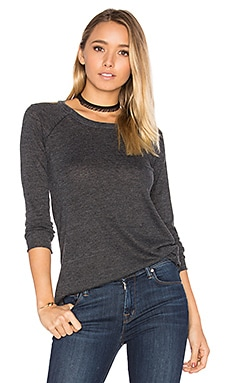 Destructed Cold Shoulder Tee