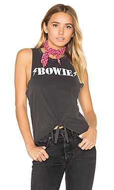 Bowie Tie Front Muscle Tee