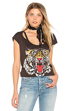 Tiger Tee in Black