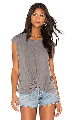 Twist Front Hi Lo Tee Chaser $57 BEST SELLER