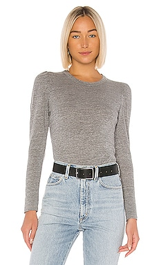Puff Sleeve Crew Neck Tee Chaser $44