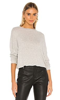 Funnel Neck Drop Shoulder Dolman Tee Chaser $41