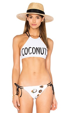 Chaser Coconuts Top in White