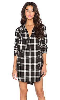 CP SHADES Teton Plaid Tunic in Black