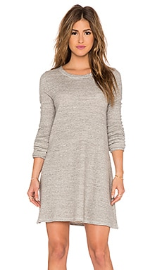 CP SHADES Mercedes Sweater Tunic Dress in Heather Grey