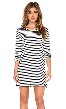 CP SHADES Mercedes Striped Tunic Dress in Navy