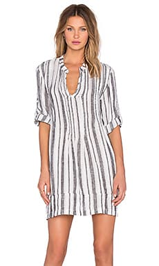 CP SHADES Regina Stripe Tunic in Bold Stripe Wash